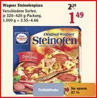 [LOKAL] WAGNER SteinofenPizza vers. Sorten für 1,49€ bei @Globus Hockenheim