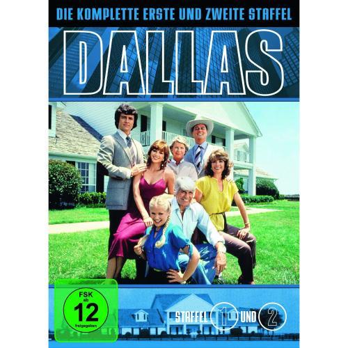 Dallas die komplette erste und zweite Staffel auf 7 DVDs oder eine der Staffeln 3-12 für jeweils 9,97 @Amazon