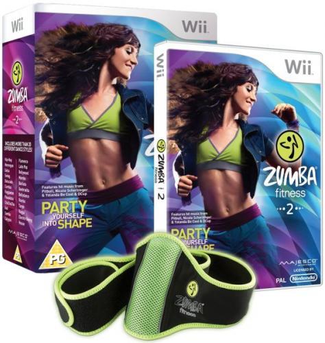 Zumba Fitness 2 (mit Fitness Gürtel) für Nintendo Wii für 15,15 € @ Zavvi