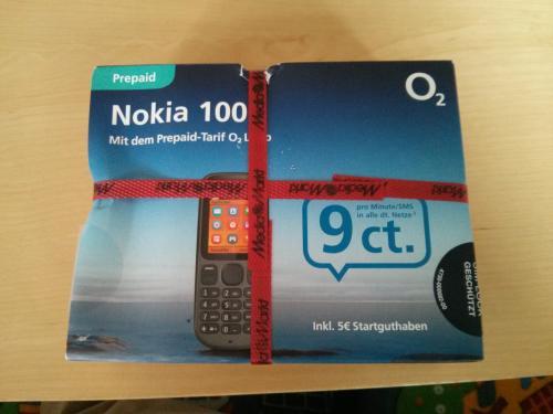 [MM Bremen] Nokia 100 für 7€ plus 5€ o2-Startguthaben