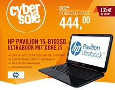 HP Pavilion Ultrabook 15-b103sg - i5-3337U 6GB 640GB + 32GB SSD Windows 8