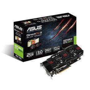 ASUS Nvidia GeForce GTX 660 ti 2GB DDR5  für 235 bei Notebooksbilliger.de