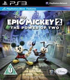 Disney Epic Mickey 2: Die Macht der 2 (The Power Of 2) [UK PS3] für 12,99€