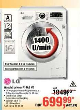 LG Waschtrockner F14A8YD