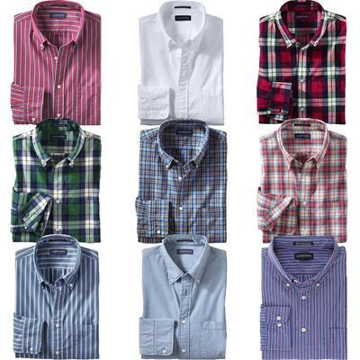 LANDS' END Herren Popeline Freizeithemd versch. Farben für 19,95€ @ebay