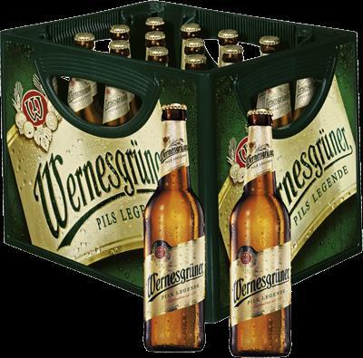 [Lokal?] Real Aktion zum Tag des Bieres: Wernesgrüner 8,49 € zzgl. Pfand