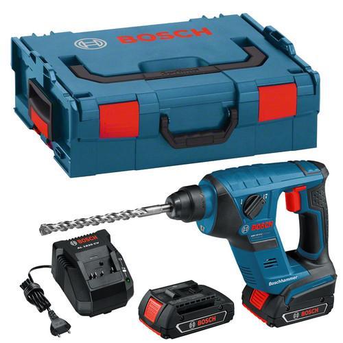 Bosch Akku-Bohrhammer GBH 18V-LI in L-Boxx, 2 Akku, 18V @Ebay WOW