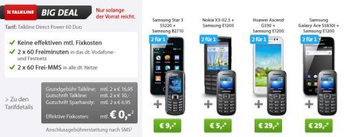 Sparhandy: Bis zu 140 Euro Ersparnis beim Huawei Ascend G330
