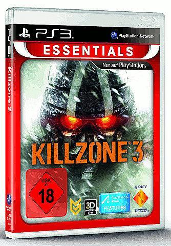 Killzone 3 Essentials (PS3) für 12,72 € inkl. VSK @ Shopto