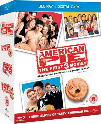 [Blu-ray] American Pie 1-3 für 7,30 € oder Wanted / Kick-Ass / Scott Pilgrim Vs. The World / Hellboy 2 Box für 9,40 € @ Zavvi