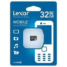 Lexar 32GB High Speed Micro SDHC Class 10 für 21€ @Amazon Marketplace