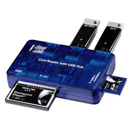HAMA All in One Cardreader mit USB 2.0 und 3 fach Hub für nur 3,99 (Vergleichspreis: 13,30 EUR)