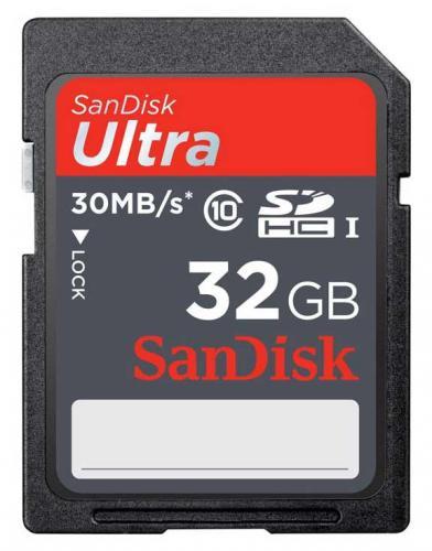 SanDisk Ultra 32 GB Class 10 für nur 20,49 EUR inkl. Versand