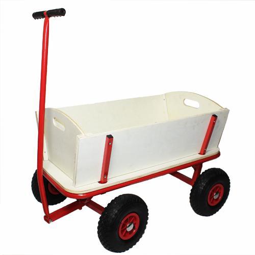 Für die Wanderlustigen : Bollerwagen Transportwagen Handwagen Luftreifen WOW! @Ebay