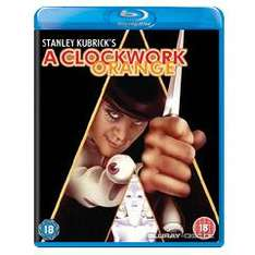 (UK) A Clockwork Orange [Blu-Ray] für 7.56€ @ Zavvi