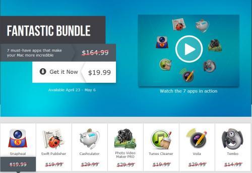 Fantastic Bundle von MacPhun - 7 Apps für 19,99$ (15,37€)