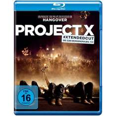 [Blu-ray] Project X (Extended Cut) für 7,90€ inkl. Versand @ Amazon