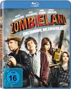 [Amazon] Zombieland [Blu-ray] für 7,90€