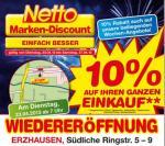 [Lokal] Netto - Erzhausen bei Darmstadt - 10% Rabatt auf Alles - Lenor 0,62€ - Ofenfrische 1,79€
