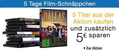 [Amazon] Neue 5-Tages Aktion mit BD/DVD-Angeboten (inkl. kaufe 5, spare 5€)