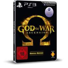 [ PS3 ] Sony Computer Entertainment God of War: Ascension SE Steelbook (Special Edition USK 18) für 42,99 EUR inkl. Versand @ redcoon.de