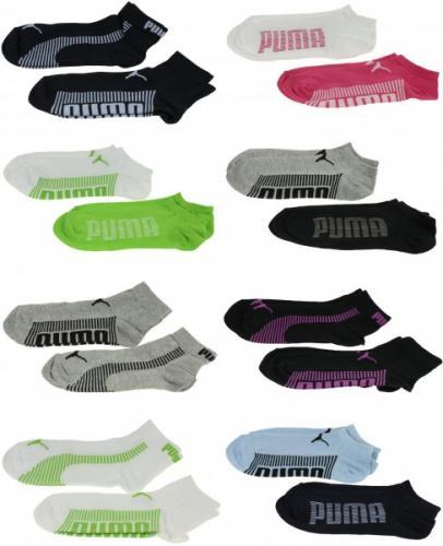 6 Paar Puma Sneaker oder Quarter Socken - Unisex