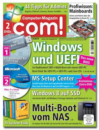 com!-magazin mit DVD 2 Ausgaben Kostenlos
