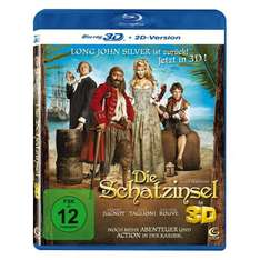 Die Schatzinsel 3D (inkl. 2D Version) [Blu-ray 3D] @Amazon.de