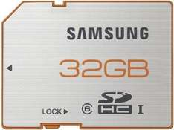Samsung 32GB Plus SDHC Karte 48MB/s Class 6 UHS-I SD Card  @ebay  16,37€