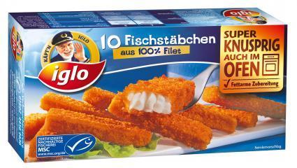 Kapt´n Iglo Fischstäbchen 10 Stück für 1€ anstatt 1,99€ @Kaufpark bundesweit.
