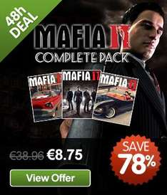 [Steam] Mafia II Complete Pack @ GMG