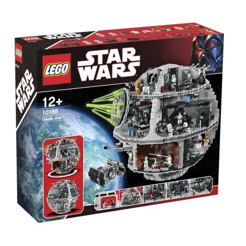 Amazon.es LEGO 10188 - Star Wars - Todesstern 316,35  euro inkl Versand Zahlung KK