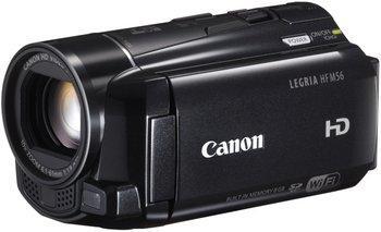 Canon LEGRIA HF M56 Full-HD Camcorder (HD-CMOS PRO Sensor, 7,6 cm (3 Zoll) Toch-LCD, 10-fach opt. Zoom, 8GB Flashspeicher + SDXC-Kartenslot, WiFi, Intelligent IS) schwarz 299€ @MediaMarkt 25% gespart