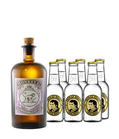 Monkey 47 Schwarzwald Dry Gin (27,99 EUR) + Thomas Henrys Tonic Water (0,75 EUR) - LOKAL