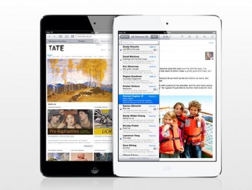 iPad mini 16 GB (schwarz & weiß) für 279 Euro wieder da