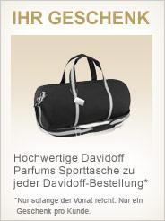 Douglas: Davidoff Duschgel + Sporttasche + 4 Proben für 12,90 inkl. Versand