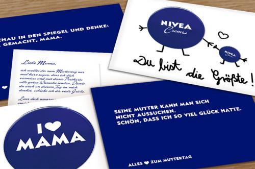 Gratis-Postkarte zum Muttertag von Nivea