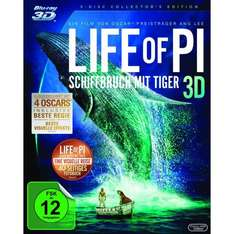 Life of Pi 3D Blu-ray für 22,99€ @Amazon
