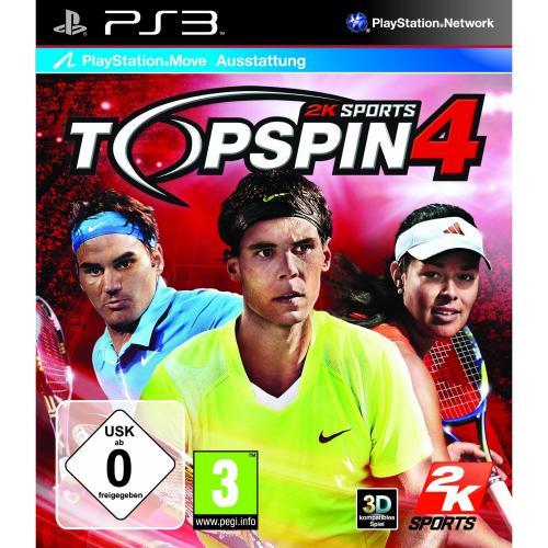 PS3 Spiel Top Spin 4  @real.de 5€