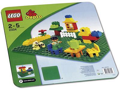 LEGO DUPLO 2304 - Grüne Bauplatte