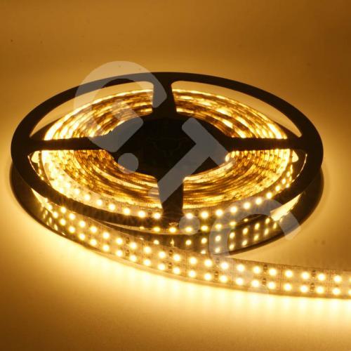 5m LED Strip Streifen warmweiß mit 1200 Doppelreihen SMD 3528 LEDs für 24,79€ inkl. VSK