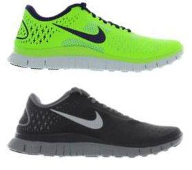 Nike Free 4.0 V2 Running Mens Grau Silber oder Neongrün Lila für 69,73 € - Kostenloser Versand