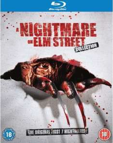 [Blu-ray] Nightmare On Elm Street 1-7 für 23,31 @ Zavvi