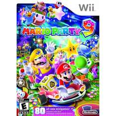Nintendo Wii Mario Party 9 @dealclub