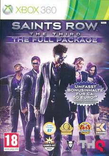 Saints Row 3 Full Package (Xbox 360) @ WoV für 15,99€