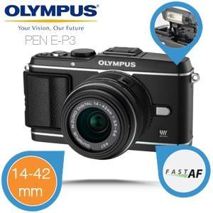 Ibood - Olympus  E- P3 Systemkamera mit 14-42mm Objektiv für nur 355,- €