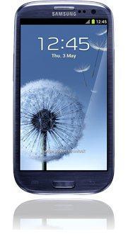 ONLINE Samsung Galaxy S3 metallic blue Base
