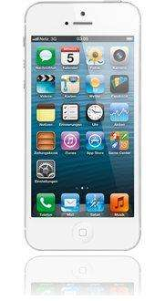 BASE: iPhone 5 16 GB in weiss ohne Vertrag