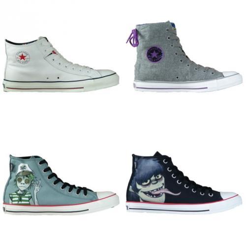 (eBay WOW) Converse Chucks Sneaker Unisex (Gorillaz Limited Edition)