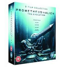 (UK) Prometheus to Alien: The Evolution Box Set (8-Disc Set)  für 34,29€ @ Amazon.UK
